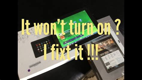 my samsung tablet wont turn on my android tablet wont turn on how to fix