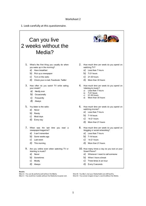 The Of Media Worksheet Answers 56 free mass media worksheets