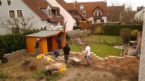 2012 03 30 Bau Gartenmauer Mit Mike Mp4
