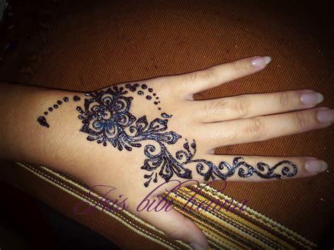 tato henna tangan pengantin henna pengantin yang simple makedes