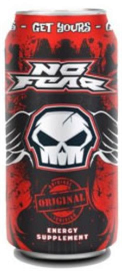 caffeine   fear energy drink