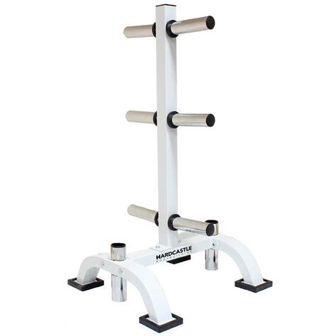 Rak Barbel 2 Olympic Weight Barbell Bar Stand Tree Chrome 400kg