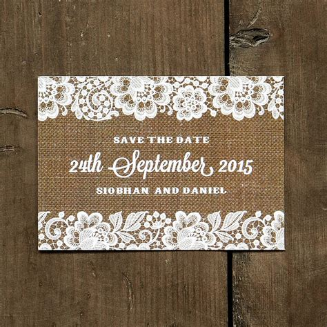 not on the high lace wedding invitations vintage lace wedding day invitation by feel wedding invitations notonthehighstreet