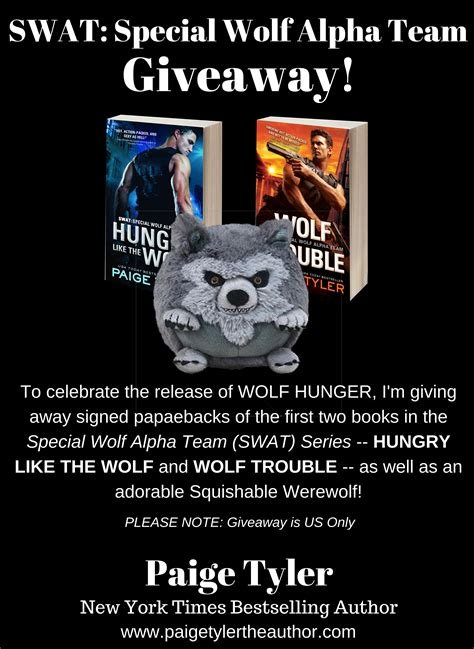 wolf hunger swat books special wolf alpha team swat giveaway for the release of