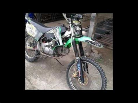 Rangka Trail motor yamaha tahun 2009 modif trail klx mesin original rangka satria