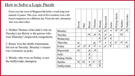 printable logic puzzles hard logic puzzles youtube