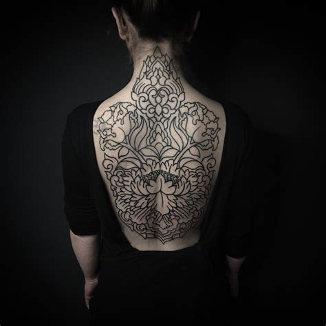 blackwork tattoo meaning 100 delightful blackwork designs redefining the
