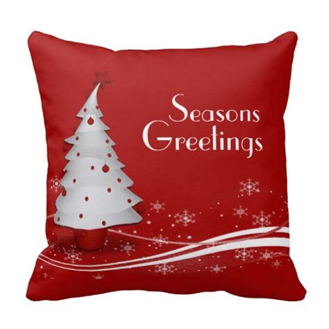 christmas couch pillows festive red christmas throw pillow