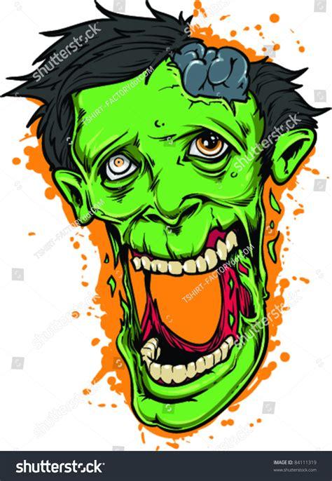 tattoo zombie cartoon vector tattoo stupid zombie 84111319 shutterstock