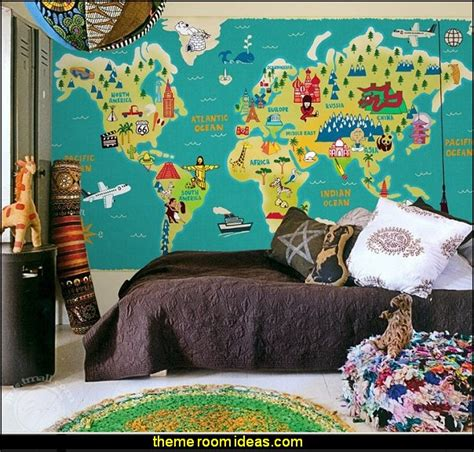 travel themed bedroom decorating theme bedrooms maries manor travel theme