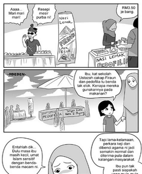 film kartun yang dilarang agama islam kartunis sindir peniaga main agama jadi pelaris
