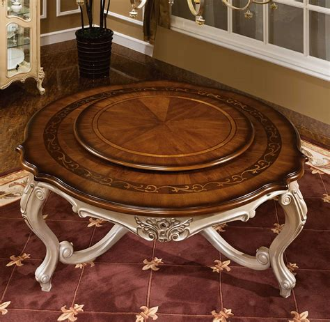 lazy susan dining room table dining room table with lazy susan marceladick com