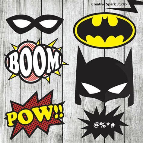 printable photo booth props batman superhero props tumblr