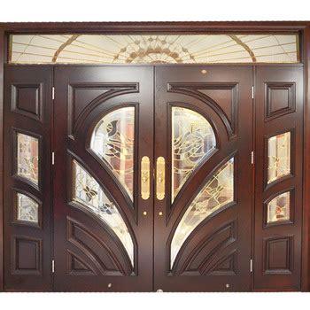 Wooden Double Door Main Gate Design