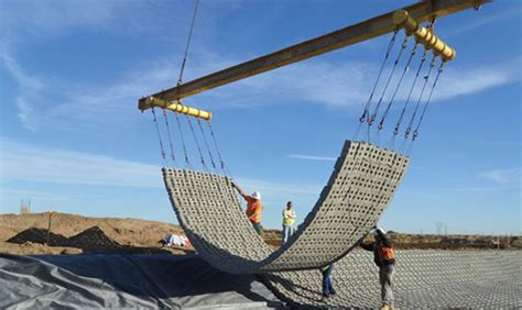 Contech Mat by Designing Dam Embankments With Articulating Concrete Block