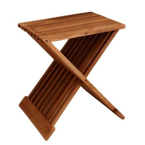 folding teak shower bench 16 in teak folding slatted shower seat iss157 the home