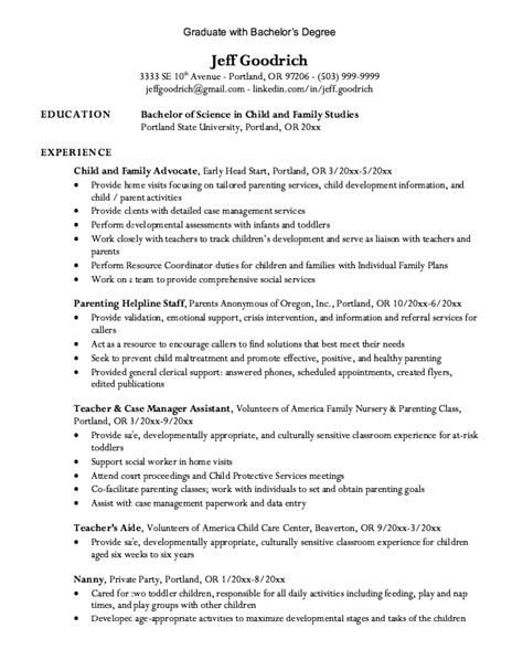 Associates Degree On Resume Exles by How To Write Bs Degree On Resume 28 Images Bachelor