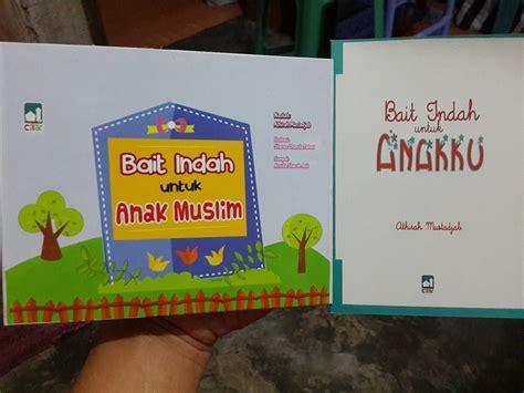 Buku 1 Set Seri Anak Saleh Didoakan Malaikat buku anak bait indah untuk anak muslim toko muslim title