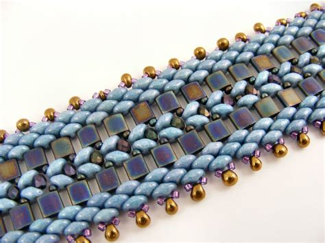 free patterns using superduo beads tila and superduo bracelet jewlery pinterest