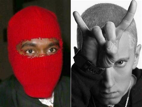 eminem kanye west pop conspiracy theory eminem s mmlp2 contains secret
