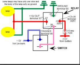 5 pin relay wiring diagram ford 5 ford free wiring diagrams