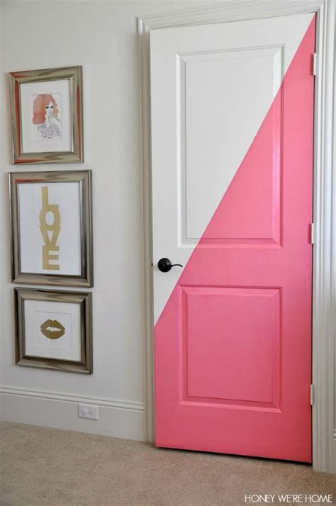 bedroom door decorations best 25 painted doors ideas on pinterest painted