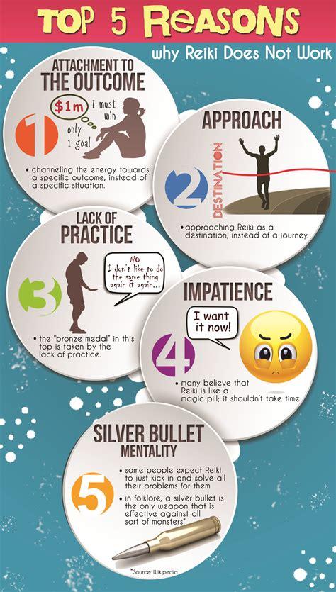 infographic top  reasons  reiki   work