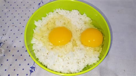 nasi dicampur telur ternyata enak banget makanan viral