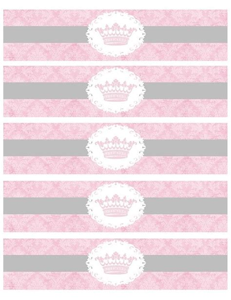 free printable water bottle label template free printable princess water bottle labels www