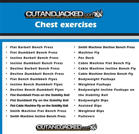 chest workout with dumbbell new calendar template site