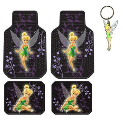Tinkerbell Car Mats by New Tinkerbell Mystical Purple Car Truck Suv Front Back