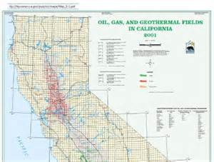 california fields map gas maps of california and the bay delta area