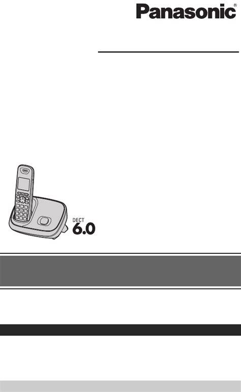 Telephone Wirelesspanasonic Kx Tg 6511 bedienungsanleitung panasonic kx tg6511 seite 1 64