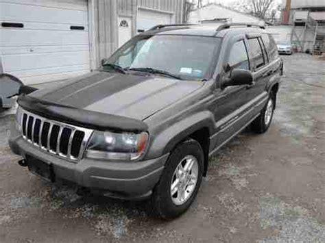 wrecked black jeep grand cherokee find used 2002 jeep grand cherokee laredo 4x4 suv salvage