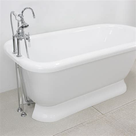 Pedestal Bathtubs by Hlflpd56fpk 56 Quot Hotel Collection Pedestal Tub And Faucet Pack