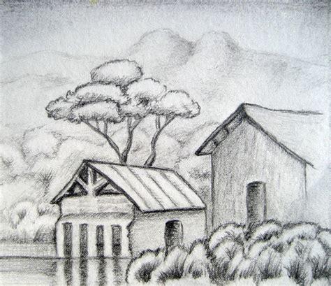 Landscape Sketches A Sketch Of Landscape Wetcanvas