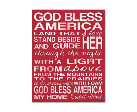 printable lyrics god bless america 5 best images of god bless america printable printable