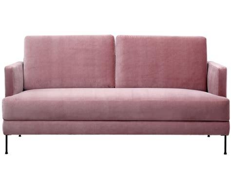samt sessel rosa samt sofa fluente 3 sitzer in rosa gt gt westwingnow