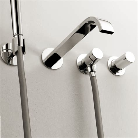 bathtub fixtures wall mount lacava arch modern bath hardware naples florida