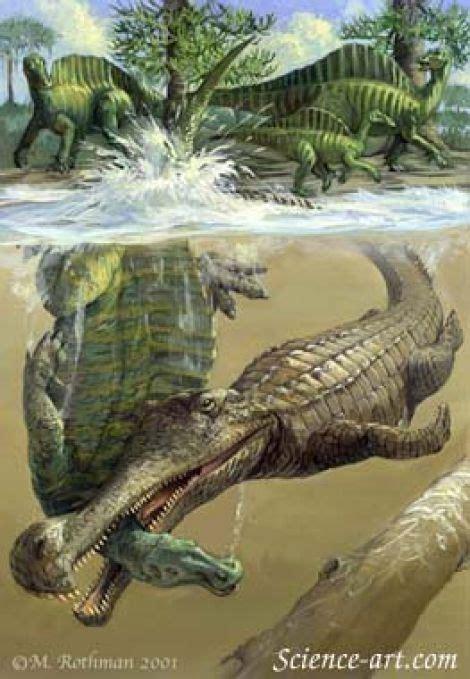 Sarcosuchus - aquatische Reptilien und Reptilien-Bilder ... Giant Alligator Dinosaur