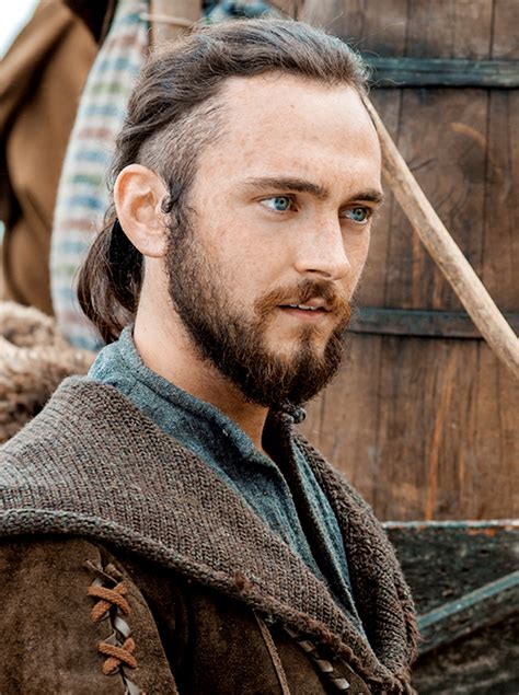 what is a viking haircut athelstan looking good for season 3 george blagden