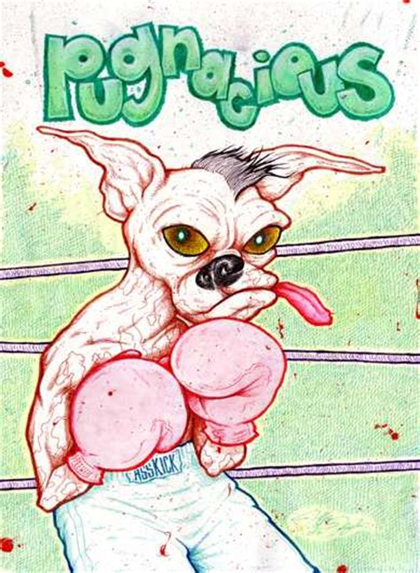 pug nacious pugnacious phocabulary word photo word of the day to improve and enhance word