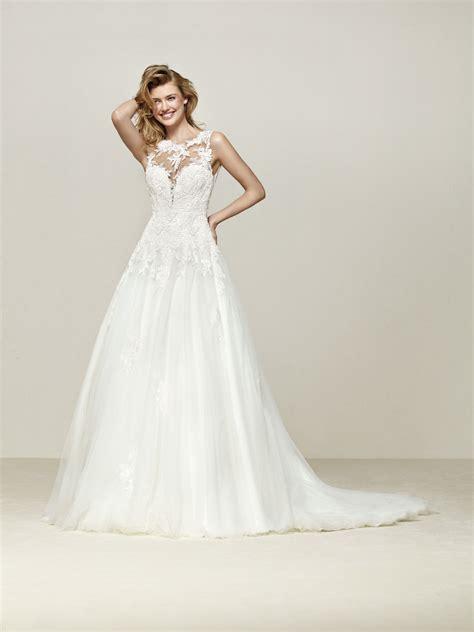 pronovias wedding dresses and cocktail dresses droel wedding dress with deep back pronovias