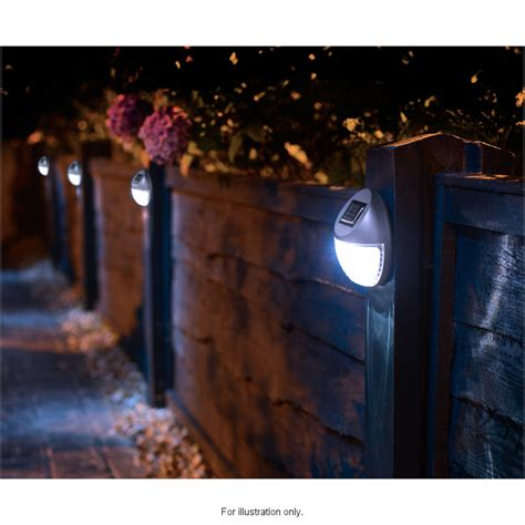 solar fence lighting patio lights for fence styles pixelmari