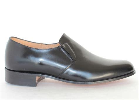 hitchcock mens calfskin dress loafers 963 black size 5 8