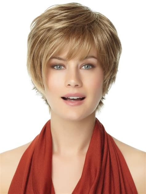 wigs for women over 50 with a round face wigs for women over 50 with round face photo short
