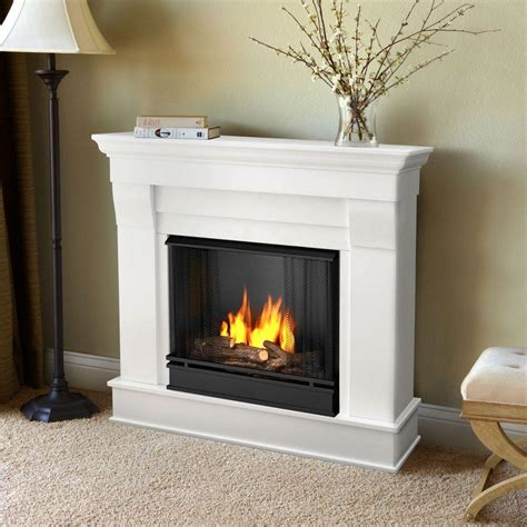 ventless gel fuel fireplace real chateau 41 in ventless gel fuel fireplace in