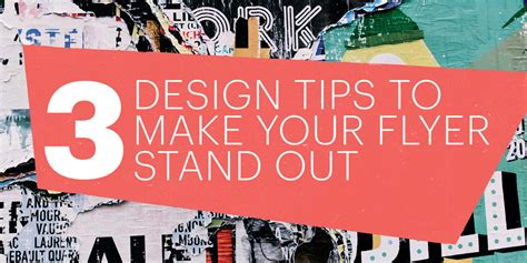 Mba Will Make You Stand Out by 3 Design Tips To Make Your Flyers Stand Out Lucidpress