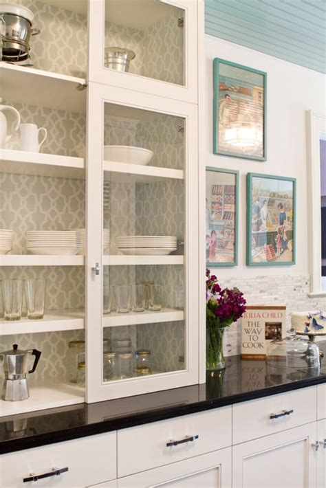 kitchen cabinet wallpaper diy kitchen spruce ups this one s for you sis 171