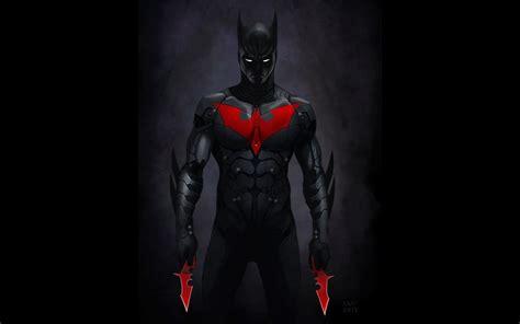 wallpaper cartoon dark batman shuriken beyond emblem android weapons men black